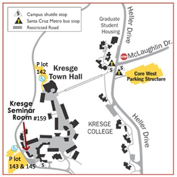 Ucsc Parking Map Parking and Directions for Common Ground Ucsc Parking Map