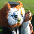KC the Owl at Commencement